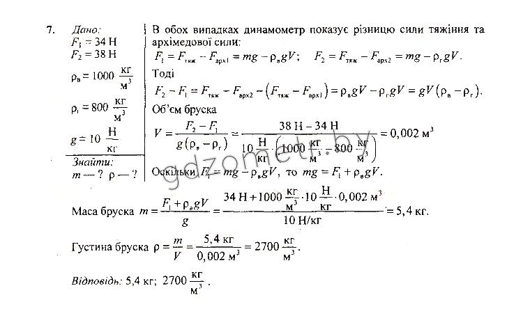 Гдз 7 Клас З Фізики Довгого